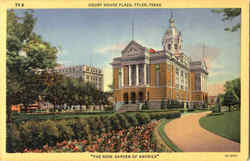 Court House Plaza Postcard