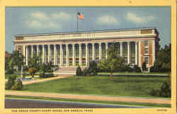 Tom Green County Court House Postcard