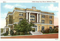 Collin County Court House Postcard