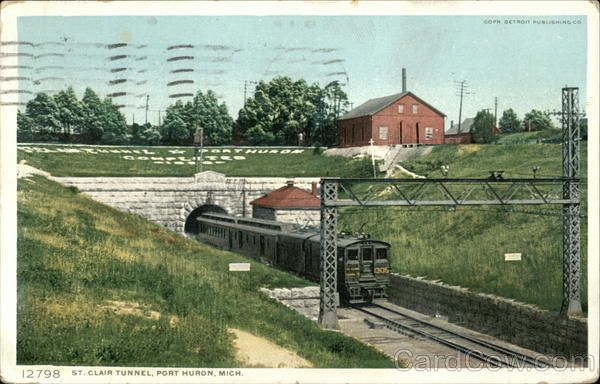 St. Clair RR Tunnel Port Huron Michigan