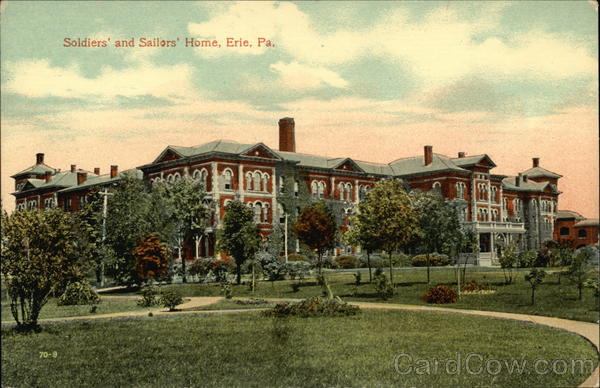 Soldiers' and Sailors' Home Erie Pennsylvania