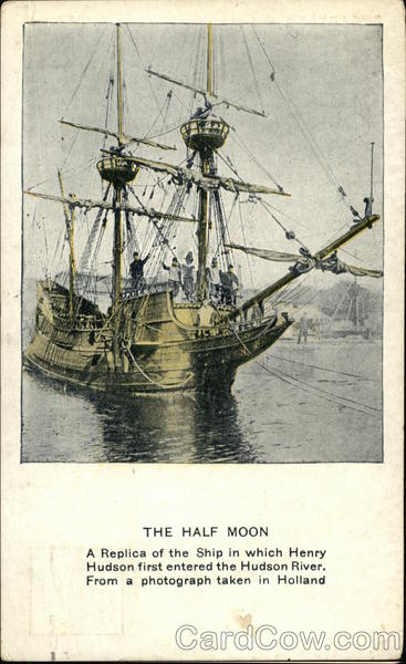 The Half Moon Postcard