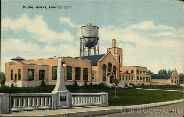 Water Works Findlay Ohio
