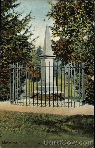 Johnny Appleseed's Monument Mansfield Ohio