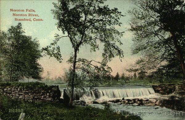 Noroton Falls, Noroton River Stamford Connecticut