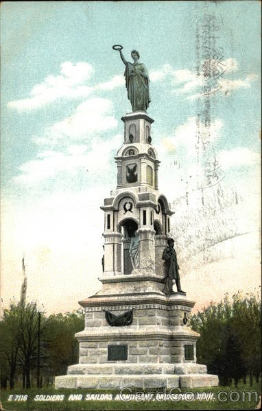 Soldiers and Sailors Monument Bridgeport Connecticut