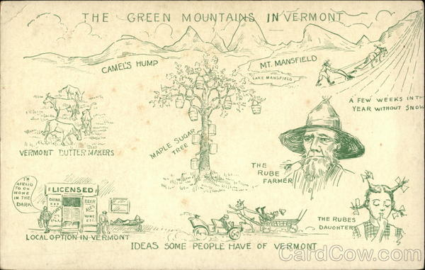 Ideas Some People Have of Vermont, The Green Mountains in Vermont