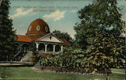 Pavilion and Flower Beds, Pine Grove Park