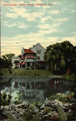 Picturesque Willow Pond Postcard
