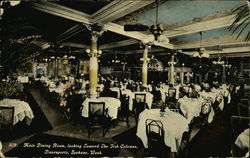 Davenports - Main Dining Room, looking towards the Fish Columns