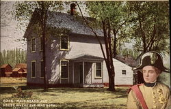 Maud Adams and House Where she was Born