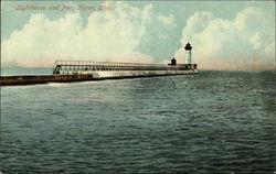 Lighthouse and Pier
