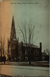 Second Cong. Church Postcard