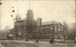 Old Miami University Postcard