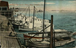 The Oyster Fleet Postcard