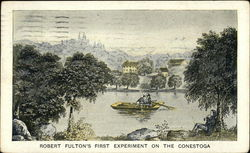 Robert Fulton's First Experiment of the Conestoga