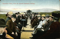 Excursion Party, Over the Seward Peninsula Railway