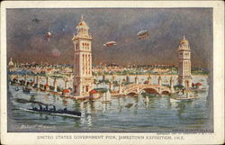 United States Government Pier, Jamestown Exposition 1907