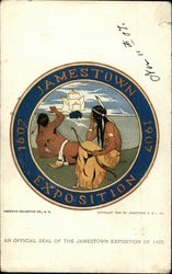 An Official Seal of the Jamestown Exposition of 1907