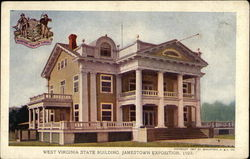 West Virginia State Building, Jamestown Exposition, 1907