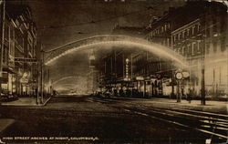 High Street Arches at Night