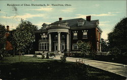 Residence of Chas. Diefenbach, Jr
