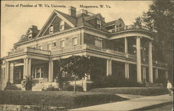 Home of President of W. Va. University