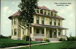 Villa at Stamford Hall Postcard