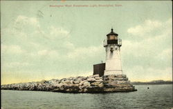 Stonington West Breakwater Light