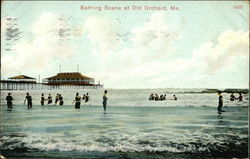 Bathing Scene at Old Orchard, Me