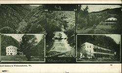 Gulf Scenes in Williamstown, Vt Postcard