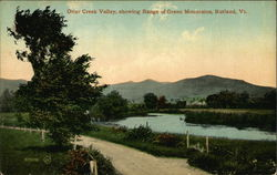 Otter Creek Valley, Showing Range of Green Mountains