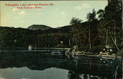 Willoughby Lake, Showing Wheeler Mt. from French's Point Postcard