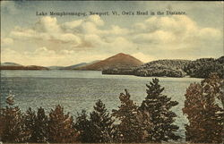 Lake Memphremagog, Owl's Head in the Distance