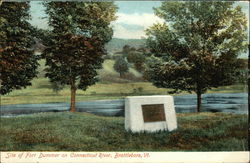 Site of Fort Dummer on Connecticut River