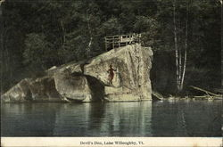 Devil's Den, Lake Willoughby