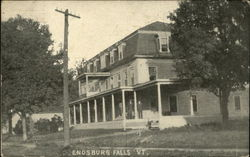 House in Enosburg Falls, Vermont