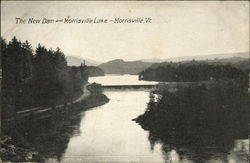The New Dam and Morrisville Lake
