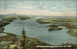 Memphremagog North from Owl's Head