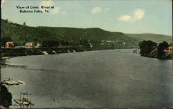 View of Conn. River at Bellows Falls, Vt