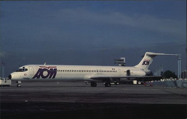 AOM French Airlines - McDonnell Douglas MD-83 Aircraft