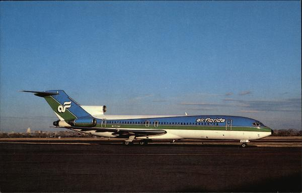 Air Florida, Boeing 727-227A, N272AF MSN 22004, Washington National Airport District of Columbia