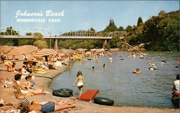 Johnson's Beach Guerneville California