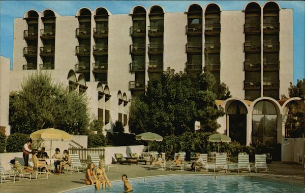 Howard Johnson Motor Lodge at Disneyland Anaheim California
