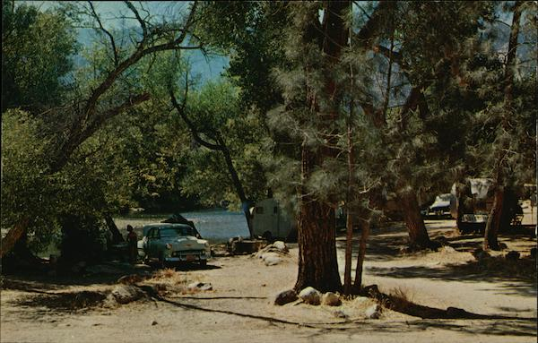 Public Camp Grounds On The Kern River Bakersfield California