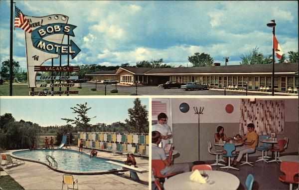 Bob's Motel Massena New York