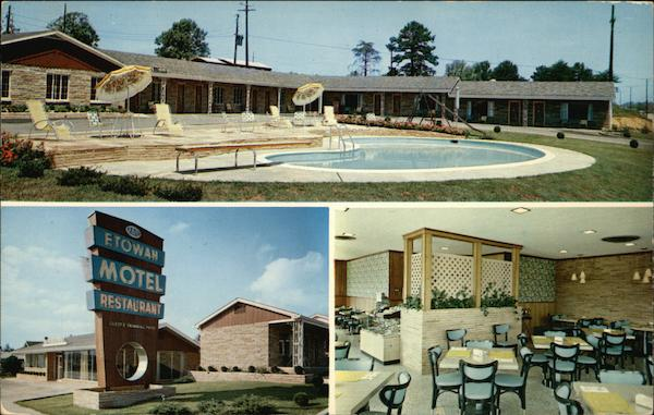 The Etowah Motel and Restaurant Tennessee