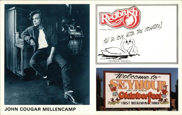 John Cougar Mellencamp Seymour Indiana Performers & Groups