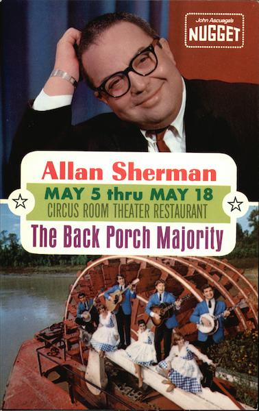 Allan Sherman - The Back Porch Majority Sparks Nevada