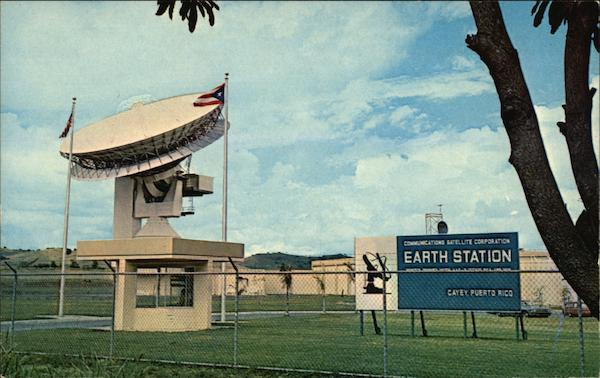 Comsat Earth Station Cayey Puerto Rico